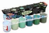 "Farbki akrylowe do paznokci/tipsów ""NAIL ART KIT"" 6x25ml"
